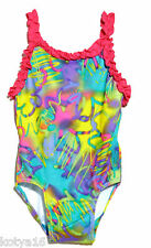 NWT Candlestick Girls One Piece Agua  Beach Graffiti Swimwear 2T  3T  4/5  6/6X