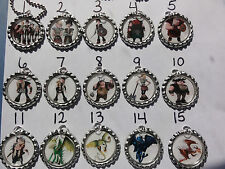 How to train your dragon Bottle Cap Keychains, charms party favors, key chain