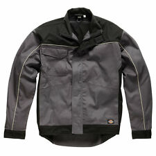 MEN DICKIES INDUSTRY WORK WEAR GREY/BLACK JACKET COAT SIZE M-XL