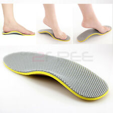 New 2pcs Orthotic Arch Support Shoe Insoles Pads Pain Relief All Size Free Ship