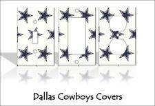 Dallas Cowboys Light Switch Covers Football NFL Home Decor Outlet