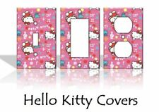 Hello Kitty Light Switch Covers Cartoon Girls Pink Home Decor Outlet