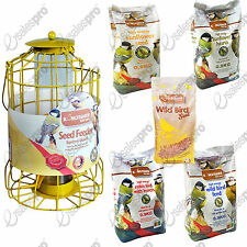 Bird squirrel guard seed feeder feed niger sunflower high energy combo deals