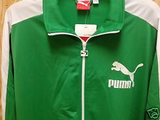 Puma Heroes T7 track jacket fern green-white