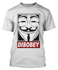 V per Vendetta ignorare T-SHIRT Anonymous Ofwg Guy Fawkes Mask Supreme OBEY DTG