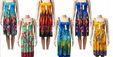 New women's smock tube sun dress Wholesale Assortment knee length Lot of 36