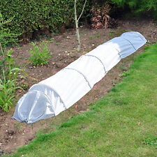 Fleece grow tunnel cloche 3m propagator plant frost protection mini greenhouse