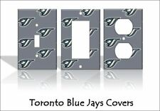 Toronto Blue Jays Light Switch Covers Baseball MLB Home Decor Outlet