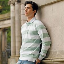 Front Row Men's Striped Rugby Shirt All Colours & Sizes