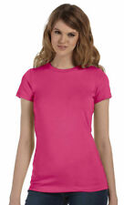 Bella + Canvas Women's 100% Cotton Short Sleeve Crewneck Casual T-Shirt. 6004U