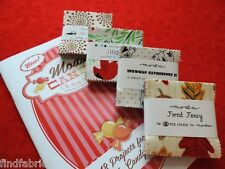"MODA Candy Mini Charm 42 Delicious 2½""  x  2½"" Squares in Every Pack"