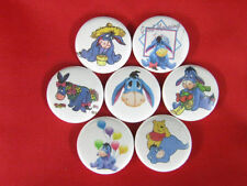 EEYORE COMIC CARTOON MULE NEW Set of 7 Select-a-Size of Pinback Buttons