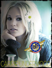 """Carrie Underwood  """"Country Music"""" Personalized T-shirts"""