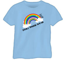 Double Rainbow Funny Joke What Does It Me Blue T Shirt