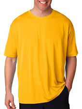 UltraClub Men's Cool & Dry Athletic Cut Short Sleeve Sport T-Shirt. 8400