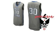 Nike Elite Duke Blue Devils Platinum Authentic Game Basketball Jersey 3M reflect