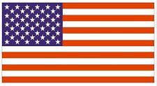 USA UNITED STATES OF AMERICA FLAG DECAL STICKER MADE IN USA FREE SHIPPING F01