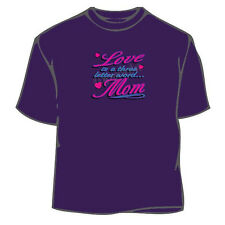 Love and Mom T-Shirt,Mother's Day T-Shirt, Mother Tee, Mother T-Shirt