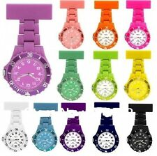 NURSES WATCH FOB WATCH TUNIC WATCH MEDICAL WATCH COLOUR CODED FACES