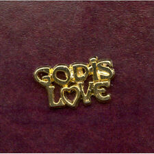 God Is Love Christian Lapel Pin Badge FREE P&P Qty Discount