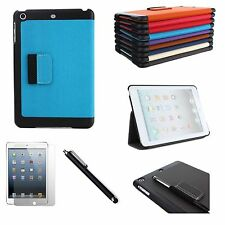 For Apple iPad Mini Smart Cover Case With Stand + Screen Protector + Stylus Pen