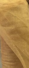Beautiful Color Glitter Mesh Tulle , 4 Yards, 60 Inches wide,  Many Colors
