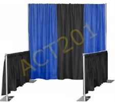 PIPE AND DRAPE TRADE SHOW BOOTH KIT (WITH ECONOMY DRAPES) - PIPE & DRAPE