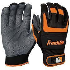 "Franklin Sports Shok-Sorb® PRO Series Batting Gloves ""Youth"" 8 Choices"