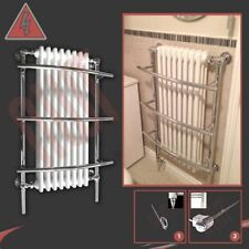 "635mm(w) x 1000mm(h) ""Tranmere"" Traditional Electric Heated Towel Rail - 600W"