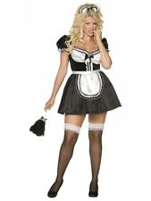 ladies sexy french maid size 20 22 rocky horror show fancy dress costume outfit