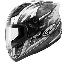 *Free 2-Day Shipping* GMAX GM69 Crusader2 (White/Silver) Motorcycle Helmet