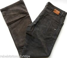"""GAS JEANS Cords Men's Boot Cut Button Fly Two tone Brown/Blue Sizes: W 30"""" - 36"""""""