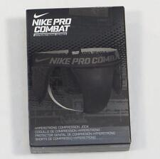 Nike Pro Combat White Hypertrong Series Compression Jock Mens NWT
