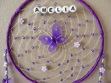 Butterfly Personalised Dreamcatcher CHRISTENING GIFT New Baby Boy Girl present