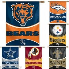 NFL Teams 2014-'15 - Vertical House Banner Flag - 27'' x 37''