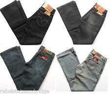 LEVI's Jeans Girls Red Tab 529 Boot Cut Stretch Denim Various Colours & Sizes