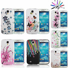 STYLISH PATTERNED SOFT SILICONE GEL CASE COVER FOR SAMSUNG GALAXY S4 I9500