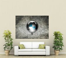 BMW Car Sign Giant XL Section Wall Art Poster L108