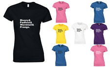 Harry Potter Characters, Harry Potter inspired Ladies Printed T-Shirt