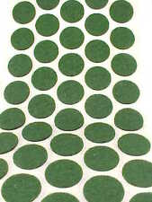 Green Felt Dots Surface Protector Pads 5/8 Inch Footies