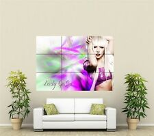 Lady Gaga Giant XL Section Wall Art Poster M113