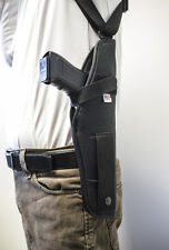 Springfield Armory M1911 45ACP  Vertical Shoulder Holster with Double Mag Pouch