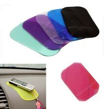 Rubber Antiskid Slip Car Mat Dashboard Board Sticker Pad f Cellphone GPS Mp3 MP4