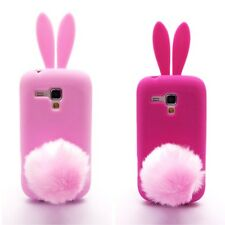 Lovely Bunny Rabbit Soft Skin Case Cover for Sumsung Galaxy Trend Duos S7562