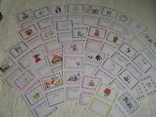 CHRISTMAS CARD INSERTS - assorted designs