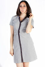 Pinafore Collared Dress Tunic Kaftan Top Casual Party Daily Cocktail Wear New