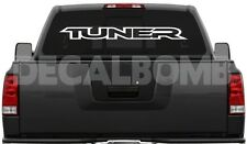 "TUNER ""outline""  windshield decal / sticker import race * choose color & size"