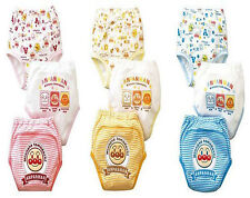 New boys & Girls pack of 3 cotton leak protection potty training pants 1 to 4yrs