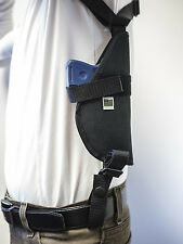 AMT Back up 45 ACP,Kahr CW380  / Vertical Shoulder Holster w/ Double Mag Pouch