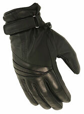 First Classics Ladies Waterproof Motorcycle Riding Glove w/ Wrist Strap FI121-GL
